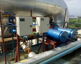 pneumatic pulse cleaning system