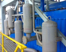detonation cleaning system